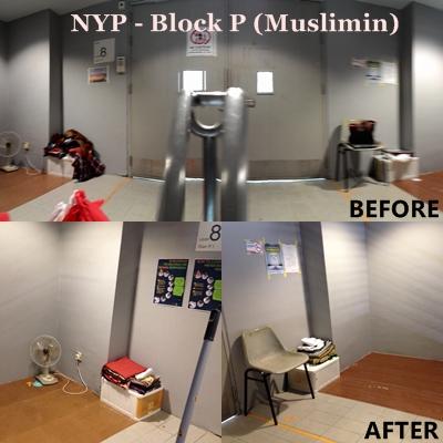 Nanyang Polytechnic Block P | Singapore | Musollah com